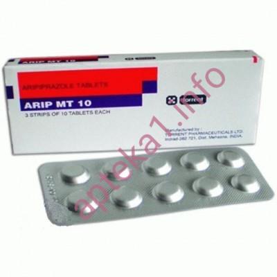 Арипразол (Арип МТ) таблетки 10 мг №30