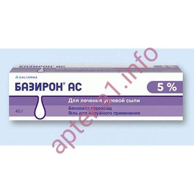 Базирон АС гель 5% 40 г