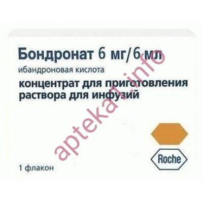 Бондронат ампулы 6 мг 6 мл №1