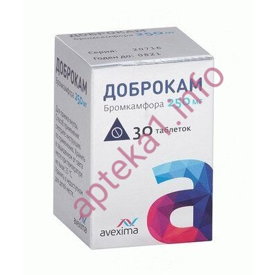 Доброкам таблетки 250 мг №30