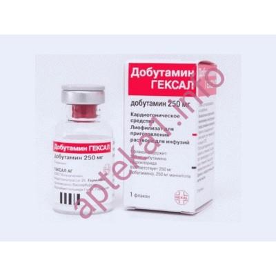 Добутамин 250 мг