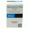 Доцетаксел-Тева  20 мг/ 1 мл №1