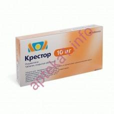 Крестор таблетки 10 мг №28