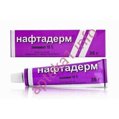 Нафтадерм линимент 10% 40 г