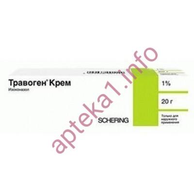 Травоген крем 1% 20 г