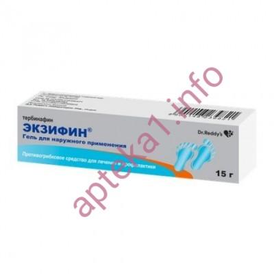 Экзифин гель 1% 15г